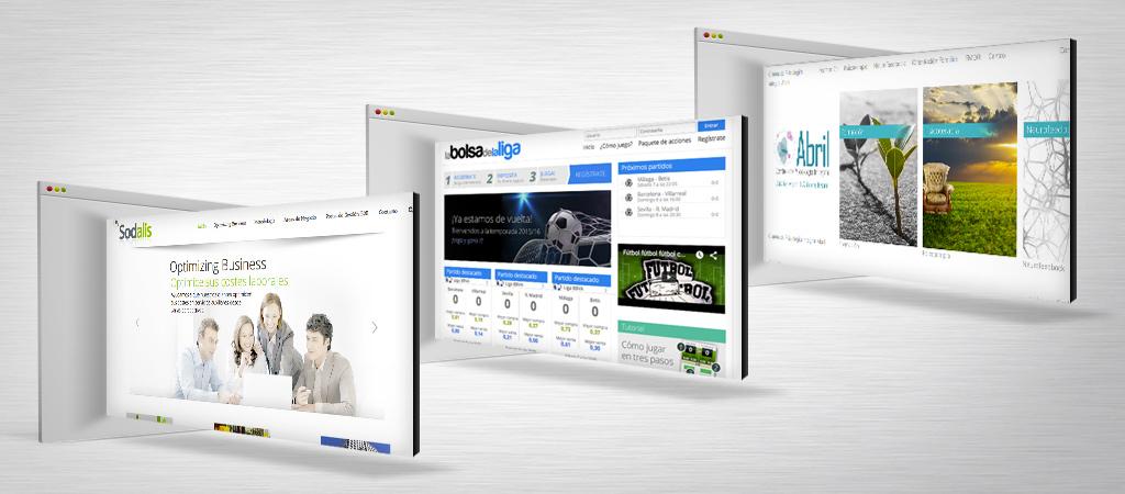 Diseño web y desarrollo web
